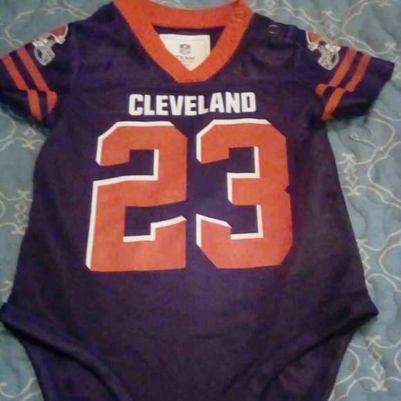 Wholesale NTL Team Apparel One Pieces | Cleveland Browns Joe Haden Jersey  free shipping